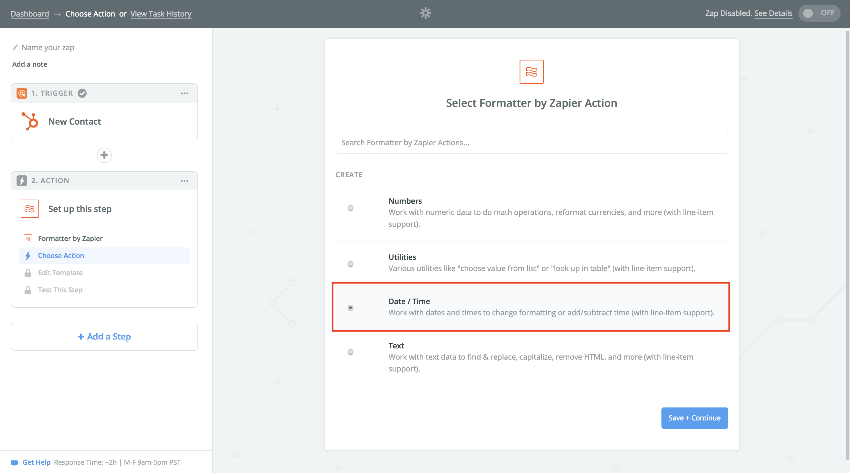 How to use Zapier to push new trial customers from Hubspot
